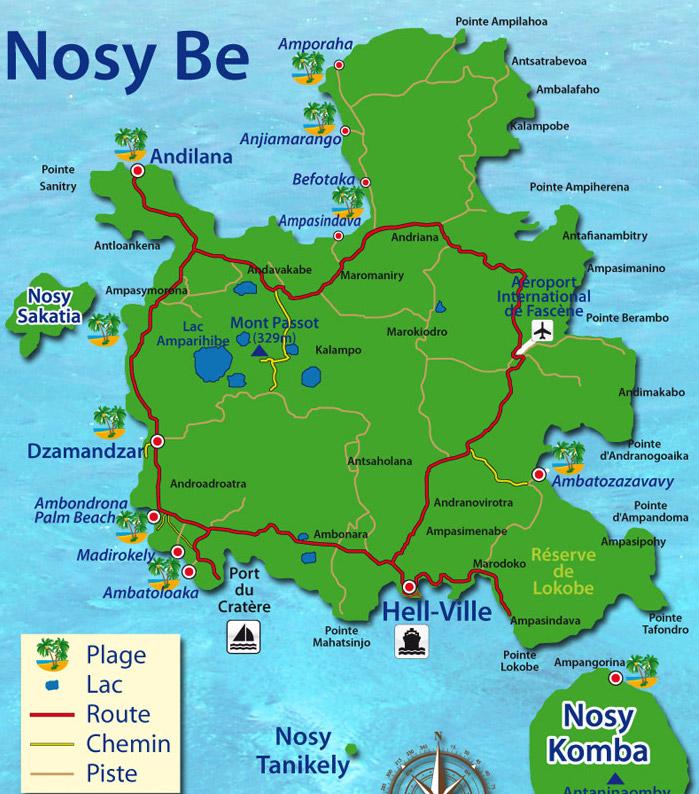 Carte Madagascar Nocibe.Madagascar