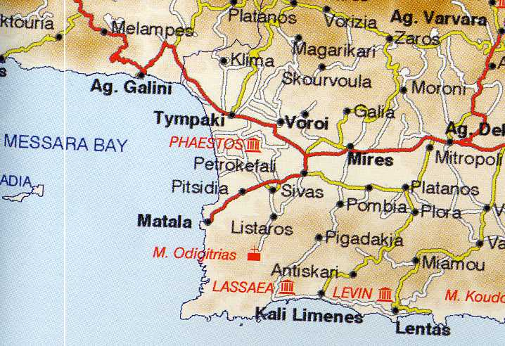 La Crète   Matala